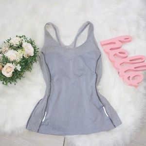 Lucy Tank Top 8* Gray